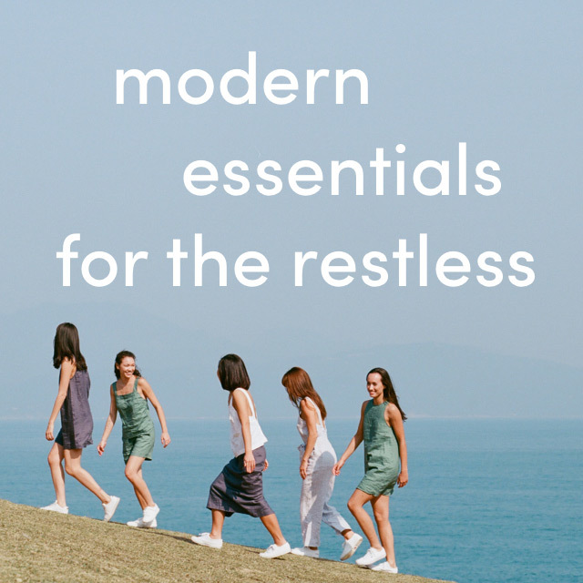 modern essentials for the restless