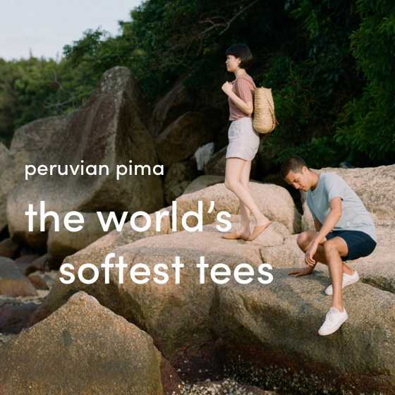 the world's softest tees
